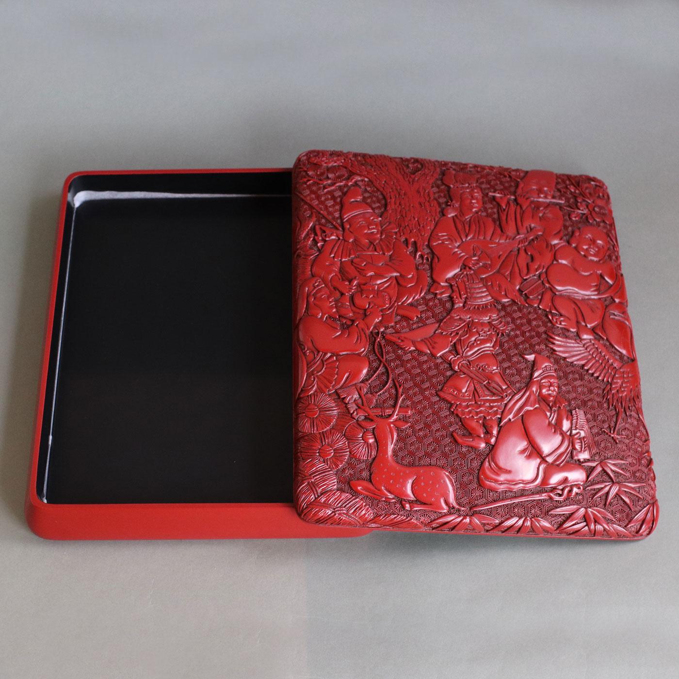 硯箱(七福神)